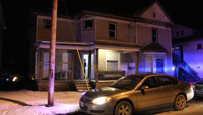 A man was stabbed in a residence in the first block of East Arch Street on Thursday, Jan. 4, 2018. Police reported the man's injuries do not appear to be life-threatening.