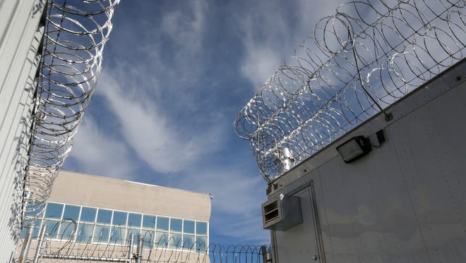 A file photo taken at the Greene County Jail.