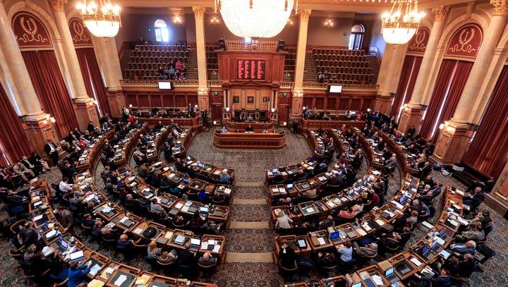 Speaker of the Iowa House of Representatives Linda