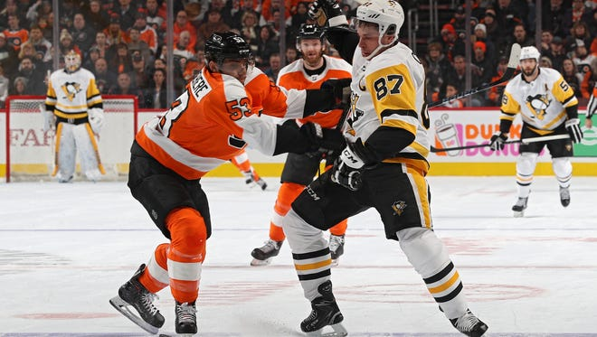 Shayne Gostisbehere has put up the points offensively and played a responsible defensive game that makes last season's struggles look like a fluke.