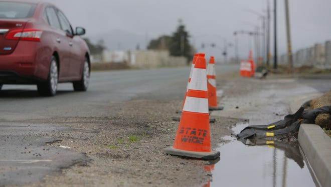 Salinas has been drenched with rain early this week and is expecting more rain next week.