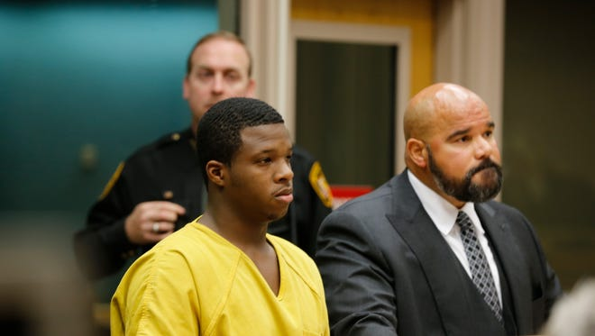 """Bond was set at $2 million Thursday morning for Ke'von Smith who is charged with murder in the death of 9-year-old Alexandrea 'Sissy"""" Thompson."""