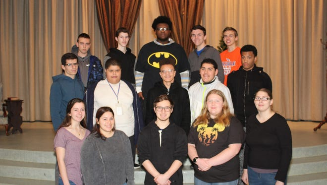 Millville Senior High School's Students of the Month for December are:(bottom row, from left) Caitlyn Rivera, Nyssa Nunez, Corey Tremblay, Chelsea Williams and Amanda Williams; (middle row, from left) Jacob Parent, Matt Denby, Ralph Martin, Rafael Reynoso and Kyle Wright; and (top row, from left) Dominic Genna, Zachary Fidler, Timothy Kent, David Crain and Alec Reilly.