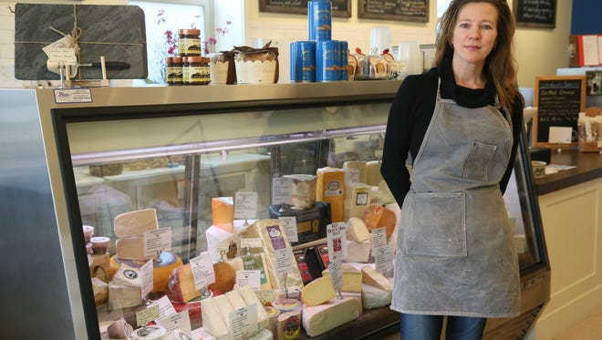 The Village Cheese Shop in Wauwatosa hosts food-related events. Shown is owner Sabina Magyar.