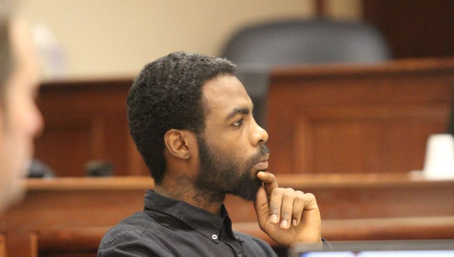 Darcell Wright is on trial this week in the Nov. 17, 2015, shooting death of Dalenzo Russell