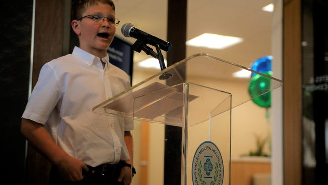 Quinn Lockwood of Carmel Valley, who was diagnosed with type 1 diabetes at 18 months old.