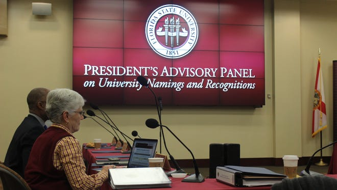 The President's Advisory Panel on University Namings and Recognitions to discuss the future of the names of B.K. Roberts Hall and Francis Eppes Hall, as well as the Eppes statue.