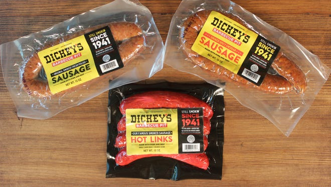 Dickey's barbecue restaurants is now selling its sausage at Bashas' grocery stores around Arizona.