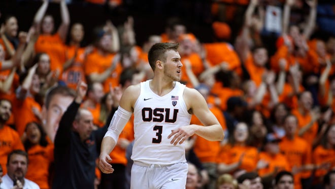 Oregon State's Tres Tinkle is having a superb sophomore season.