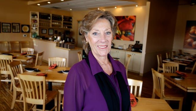 Robin Kasch founded the vegetarian restaurant Cafe Manna in Brookfield in 2008. It starts regular Sunday brunch service Feb. 18.