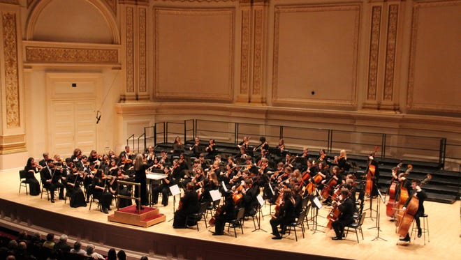 Members of Shorewood and Homestead High Schools' Chamber Orchestras performed at Carnegie Hall in New York City to a capacity audience Sunday, Feb. 18.