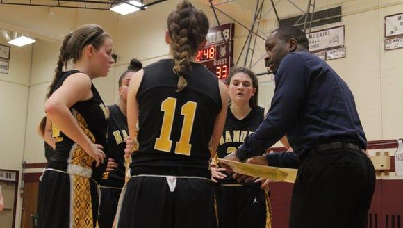 Nanuet girls basketball head coach Valiant Jones talks