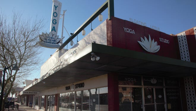 Pictured is one of eight buildings along downtown Mesa's Main Street bought by a group of firms looking to redevelop the area.