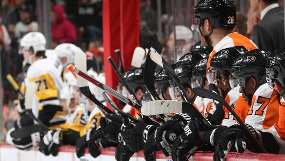 The Flyers and Penguins are in a tight race in the