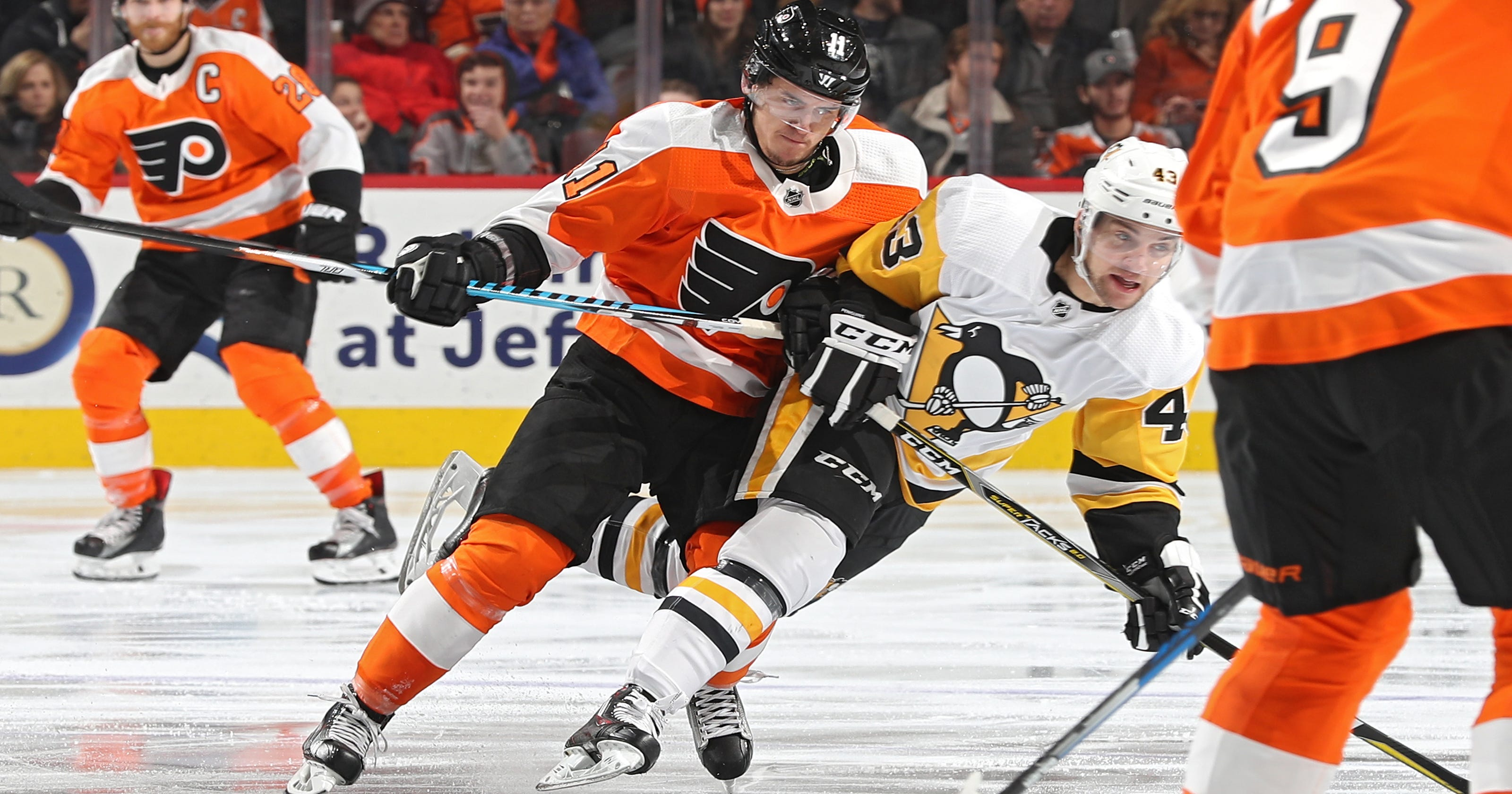 42349be097b How do Flyers and Penguins match up in potential playoff series