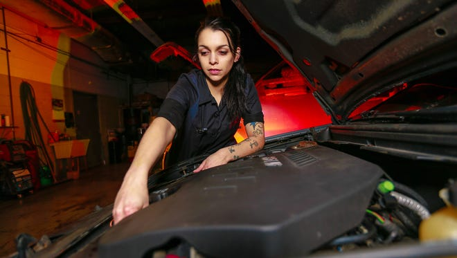 Stephanie Stanke owns Wooster's Garage in Weston. She was featured last week on The Drew Barrymore Show.