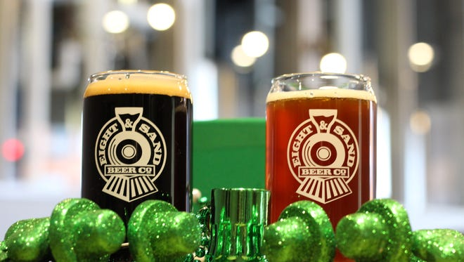 Eight and Sand in Woodbury has your St. Patrick's Day holiday covered.