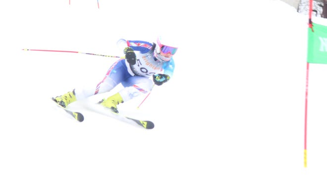 Brighton's Maddie Carrico is  Livingston Daily's Girl Skier of the Year for the 2017-18 season.