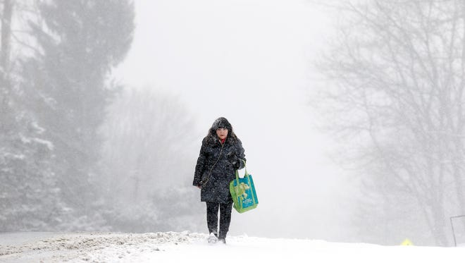 Central Jersey is getting hit with some snow for the first time in 2019 throughout Friday, Saturday and Sunday inHunterdon, Middlesex and Union counties.
