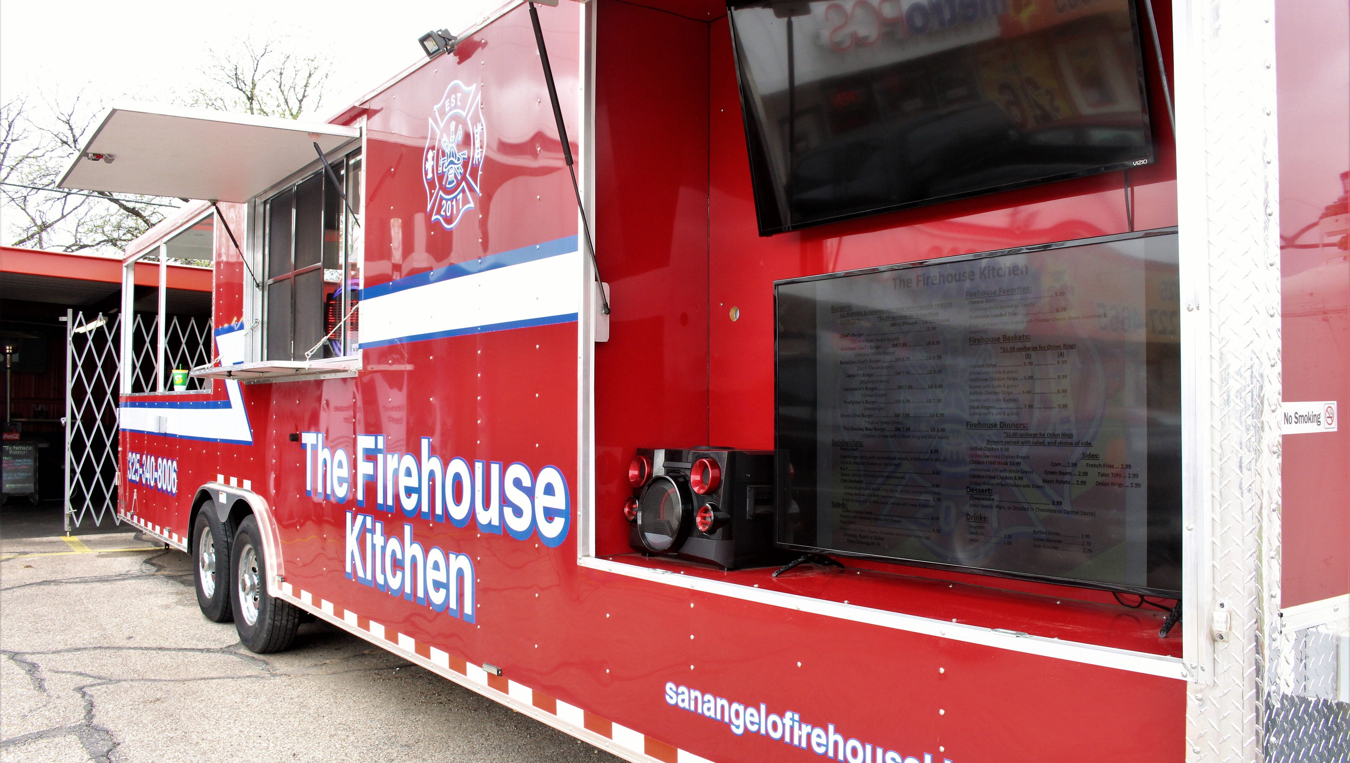Firefighters Heat Up San Angelo Food Truck Scene With Firehouse Kitchen