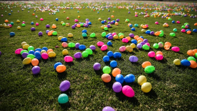 Easter egg hunts are set at several places around San Angelo.
