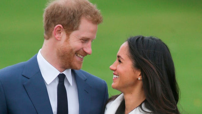 Britain's Prince Harry will marry American actress Meghan Markle in England on May 19.