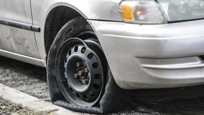 The city of Indianapolis has received hundreds of pothole claims this year.