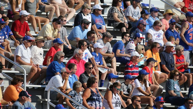 Fans at Bills training camp at St. John Fisher College. It's been a rite of summer for nearly two decades but is time up, especially with Russ Brandon's departure?
