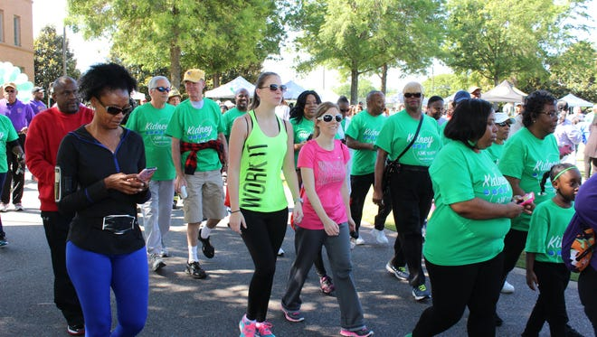 Kidney Walk participants on May 5 will be trying to help hundreds of Alabamians who need help offsetting transportation and other costs associated with weekly life-sustaining dialysis treatments. The walk will take place   at Baptist Health's DeBoer building starting at 8:30 a.m. with registration.