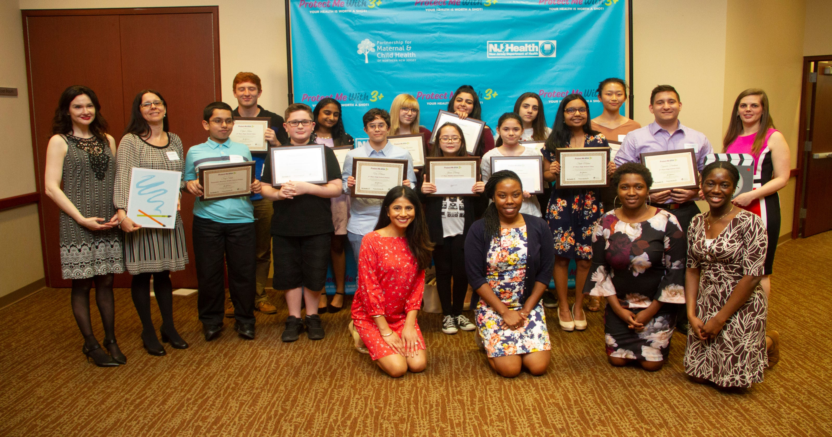 Pallone honors top district students for education and arts achievements