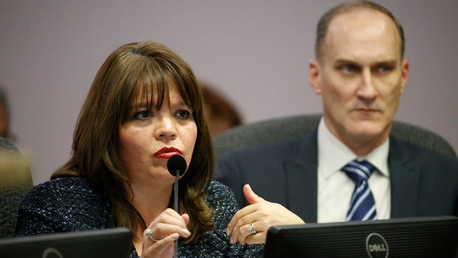 El Paso City Attorney Sylvia Borunda Firth abruptly resigned from her position in April. A Texas open government expert said the city of El Paso may have violated the state constitution by agreeing to pay Firth six months salary as part of her separation agreement.