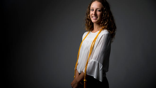 Amanda Ruci is graduating from high school with both a diploma and an associate's degree as a dual-enrollment student at Barron Collier High School and Florida Gulf Coast University.