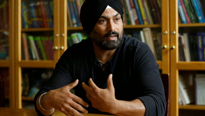 Pardeep Kaleka is the eldest son of Satwant Singh Kaleka, the president of the Sikh Temple of Wisconsin who was gunned down at the temple on Aug. 5, 2012.