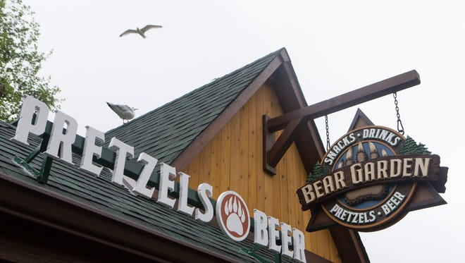 The Bear Garden is open at the Milwaukee County Zoo. The Bear Garden serves 12 different beers alongside pretzels, cotton candy and popcorn.