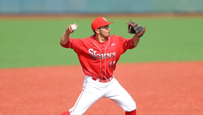 St. John's third baseman John Valente was named the 2018 Big East Baseball Player of the Year. Valente is a New Rochelle native.