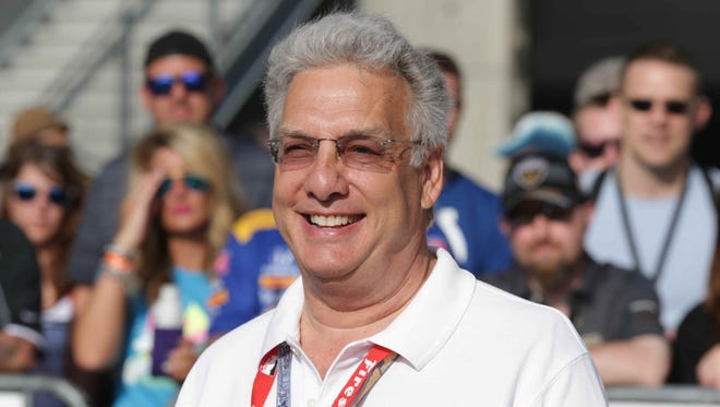 Native Hoosier and TV personality best know as the host of Double Dare, Marc Summers, walks the red carpet during the 100th running of the Indianapolis 500, at the Indianapolis Motor Speedway, Sunday May 29th, 2016.