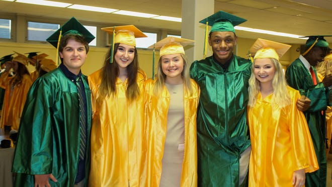 York Catholic High School held its Class of 2018 graduation on Friday, May 25.