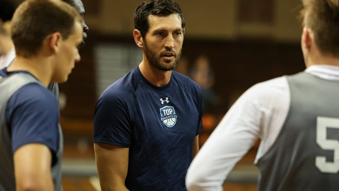 Though Hinrich has been hearing all about the Legends program since he first arrived in Sioux Falls — he joined the Sanford Pentagon as a coach in the Sanford POWER Basketball Academy last fall — this is the first year he's participated in the free program for youth.