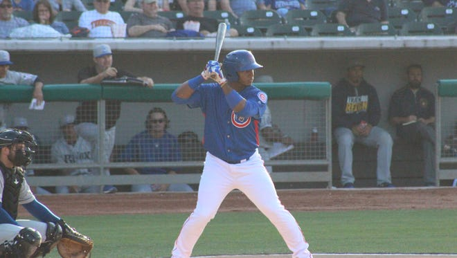 The Smokies' Jeffrey Baez  was selected to represent the Northern Division forthe Southern League All-Stars.