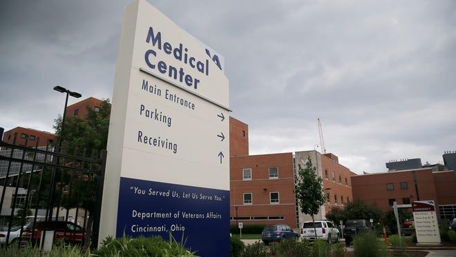 The Cincinnati VA Medical Center in the Corryville e neighborhood of Cincinnati.