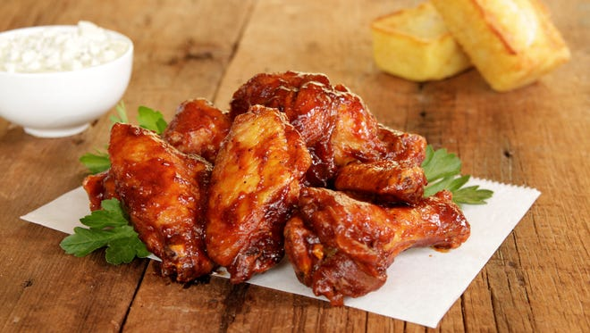 Detroit Wing Company chicken wings.