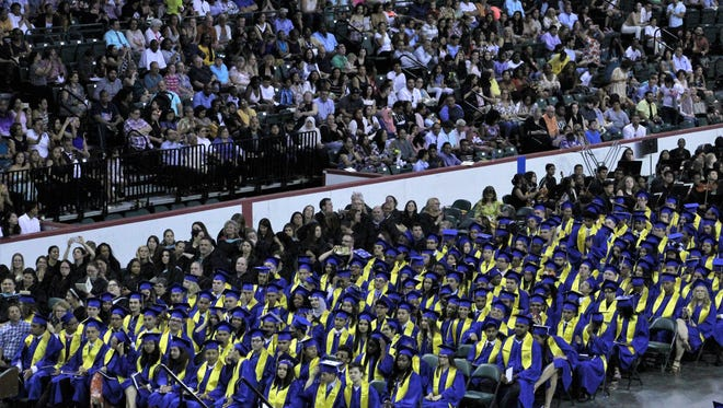 North Brunswick High School held graduation exercises for its Class of 2018 on June 21 at the Cure Insurance Arena in Trenton.
