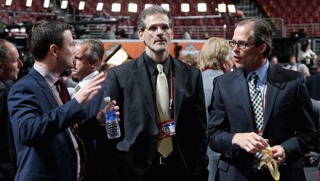 Flyers general manager Ron Hextall says he'd like to make a move that improves the team for next season.