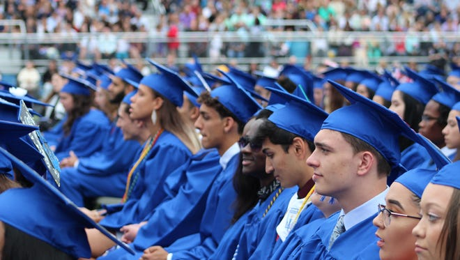 Graduation exercises for the Class of 2018 at Sayreville High School were conducted on Friday, June 22.