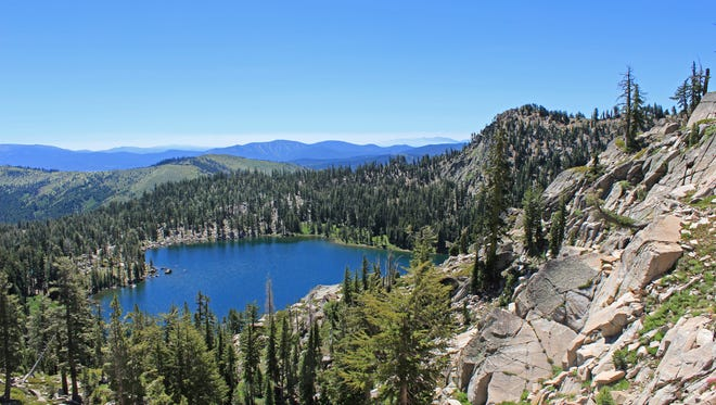 Frog Lake near Truckee, Calif., is part of a pending land deal that will conserve nearly 3,000 acres of scenic, wild land near the Sierra Crest.