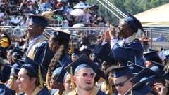 Franklin High School graduation 2018 photos