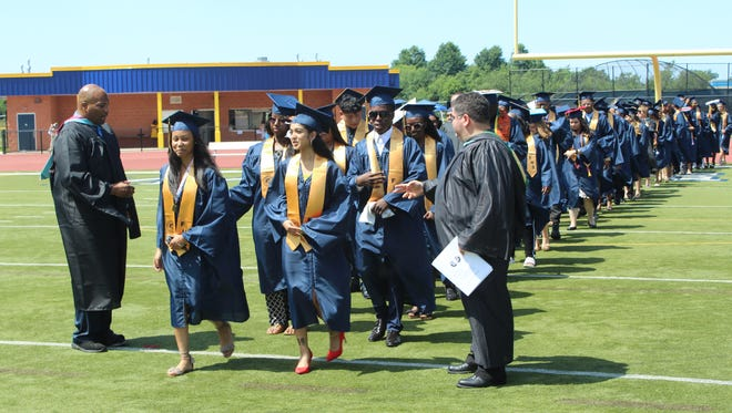 Franklin High School held graduation exercises for its Class of 2018 on June 29 at the school.