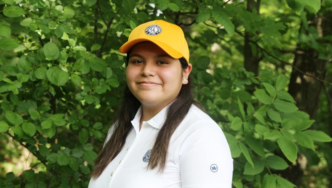 Immokalee resident Michelle Olguin is participating in the Western Golf Association's (WGA) seventh annual Caddie Academy, which provides underprivileged female teens who may not have access to caddie programs an opportunity to caddie, and upon completion of the program, apply for a full ride to college.