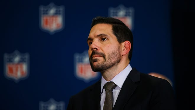 Former NFL senior vice president of officiating Dean Blandino received  penalty for unsportsmanlike conduct on Twitter Friday.
