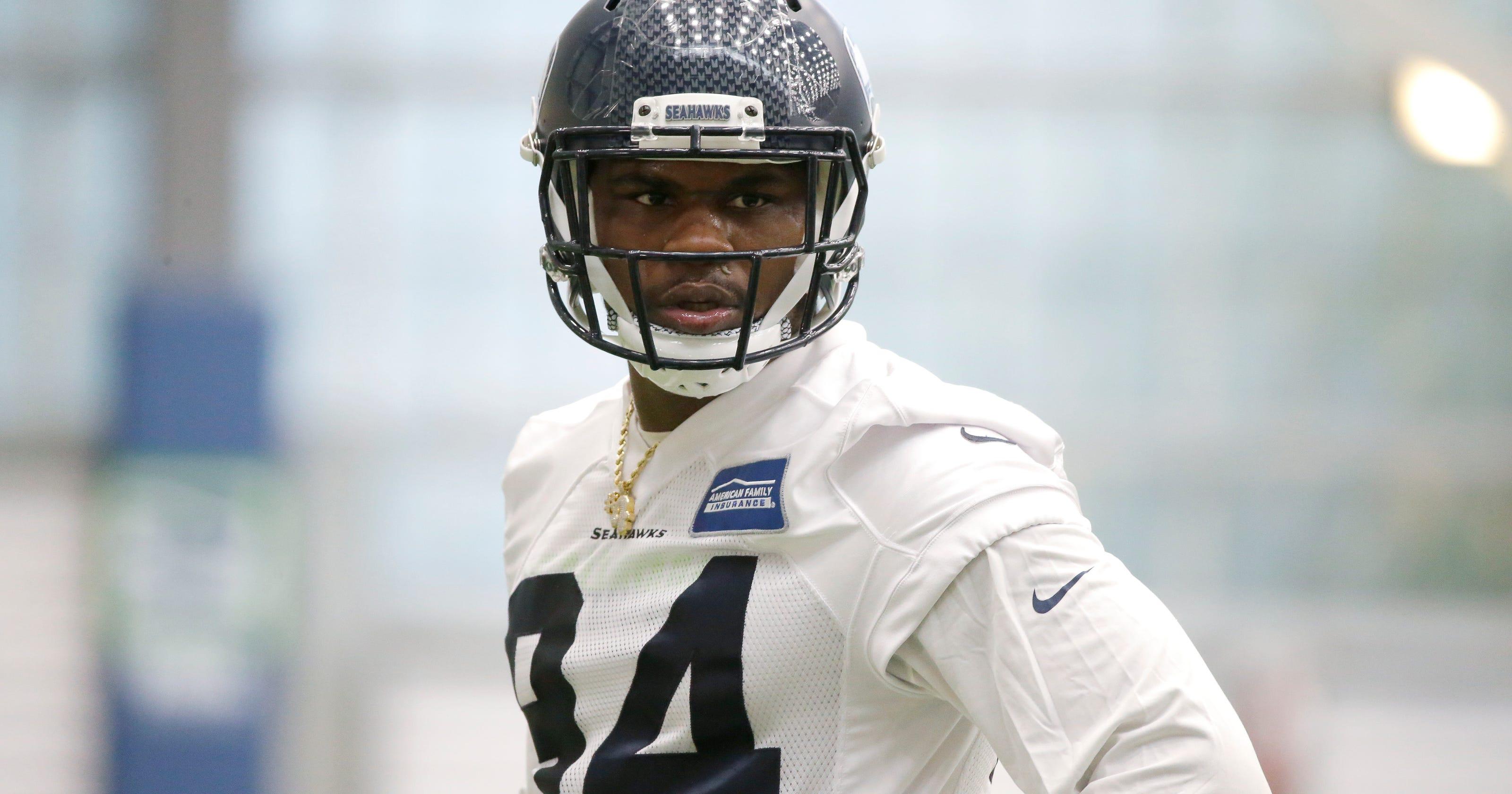 782927913 Seattle Seahawks waive former Michigan State star Malik McDowell